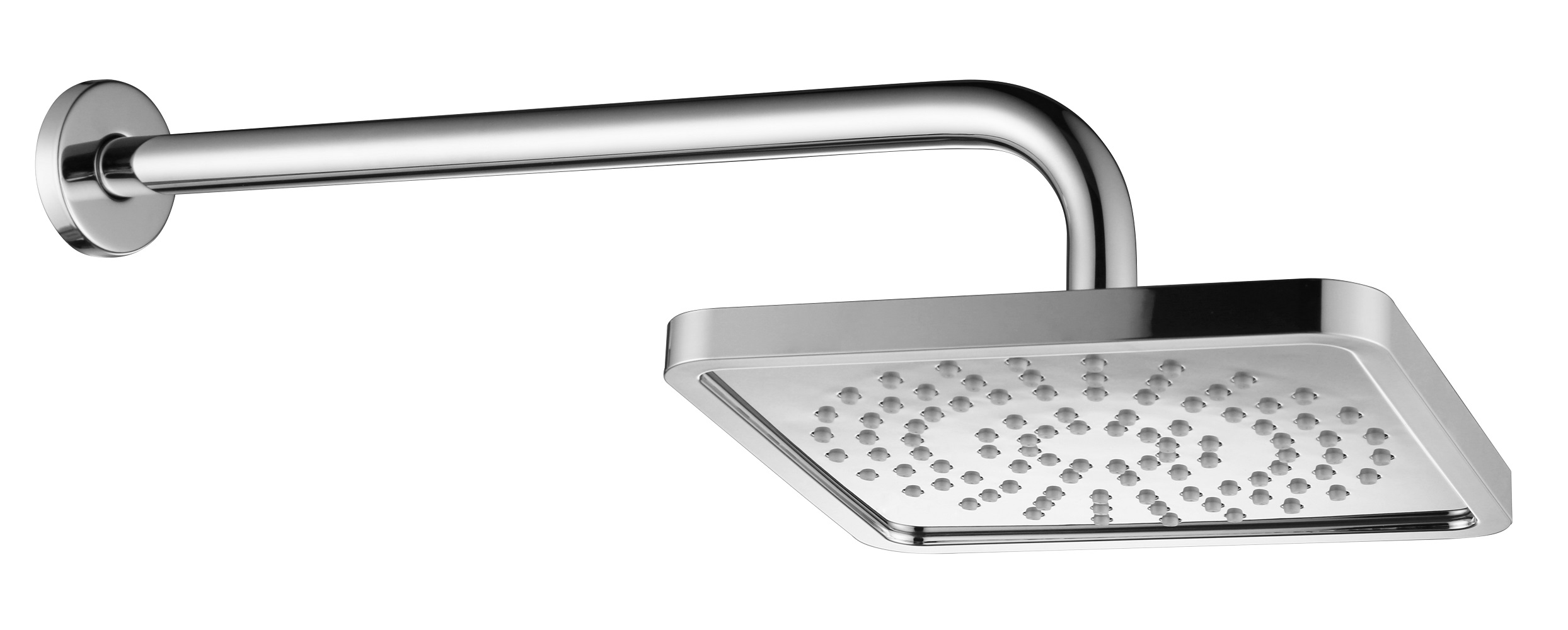 8 inches Modern Style Square Shape Modern Style Rainfall Shower Head