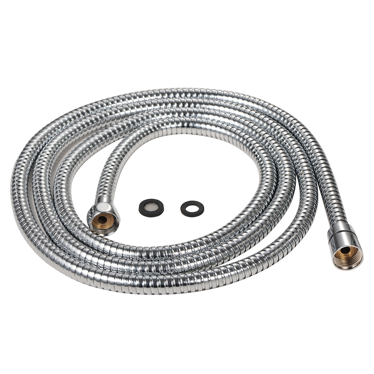Purelux 100 Inch Extra Long Shower Hose for Handheld Shower Head with Brass Fittings