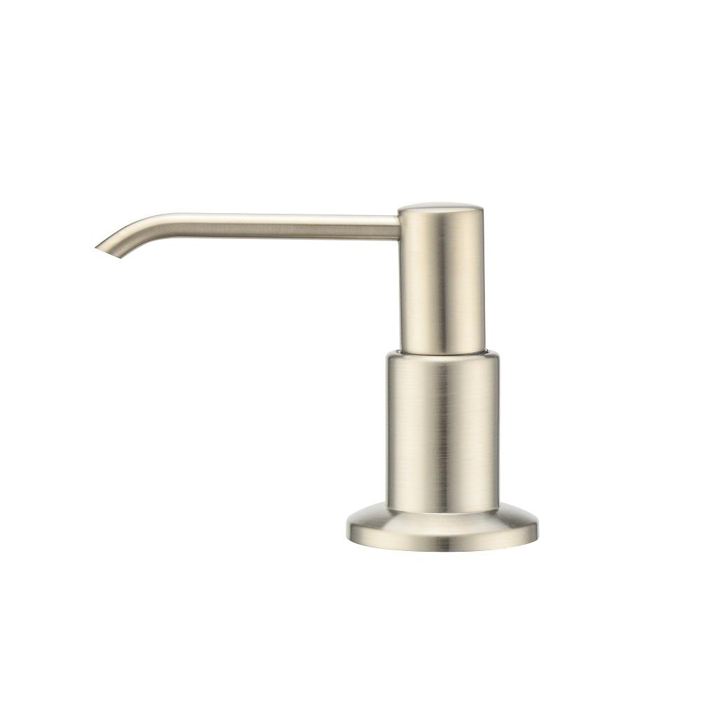 Purelux Soap Dispenser Brass Head Pump Kitchen Sink Dish Lotion Dispenser