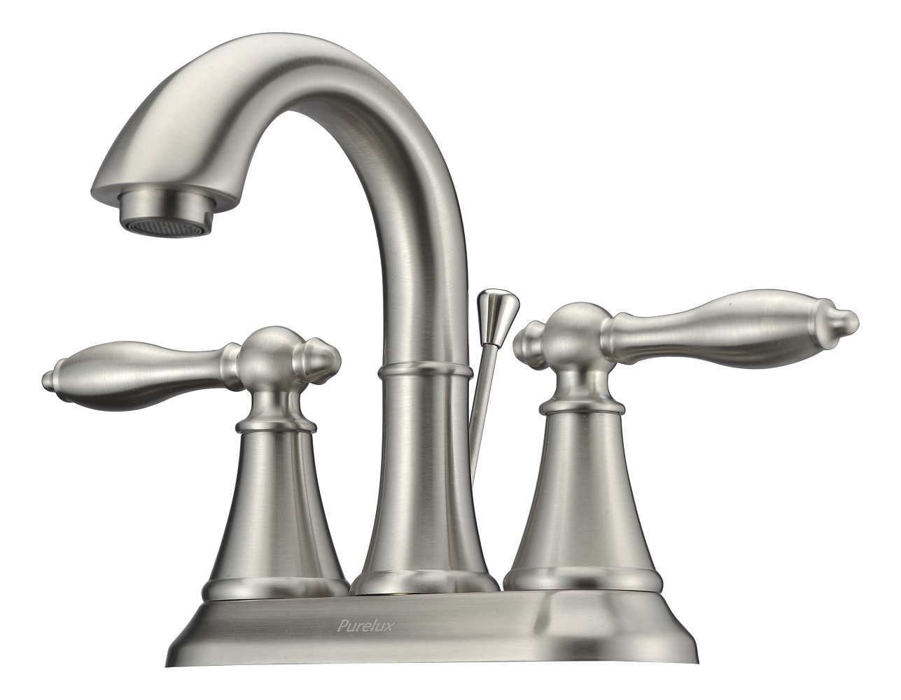 Purelux Bathroom Sink Faucet Two Handle 4